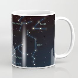 Falling star constellation Coffee Mug