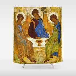"Andrey Rublev , "" The Trinity "" Shower Curtain"