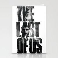 the last of us Stationery Cards featuring The Last of Us by Tatiana Anor
