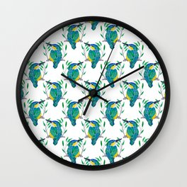 King of the Fishers  Wall Clock