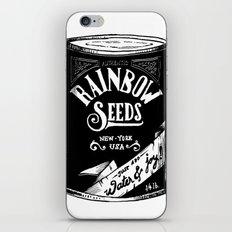 Rainbow Seeds iPhone & iPod Skin
