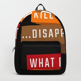 What Doesnt Kill You Goth Backpack