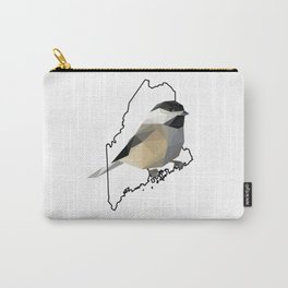 Maine – Black-Capped Chickadee Carry-All Pouch