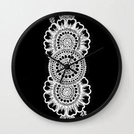 Sneha (Love) #2 Inverted Wall Clock