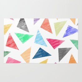 Colorful geometric pattern Rug