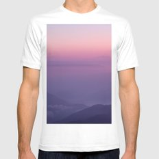 Tiger Hill MEDIUM White Mens Fitted Tee