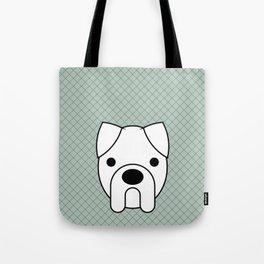 Pop Dog Boxer Tote Bag