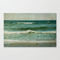 emerald Canvas Prints featuring emerald by Iris Lehnhardt