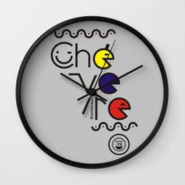 ¡Chévere Tricolor! Wall Clock