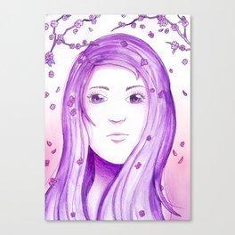 Colour Theme - Purple Canvas Print