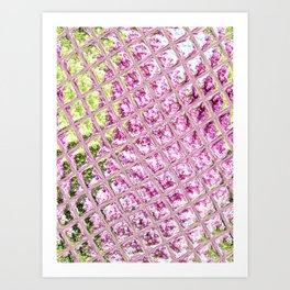 pink lilac Pinker Flieder Art Print