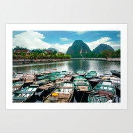 Tam Coc Vietnam Fine Art Print  • Travel Photography • Wall Art Art Print