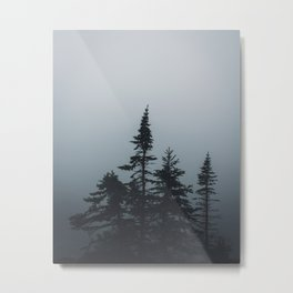 The Quiet Metal Print