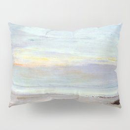 Crepuscule In Opal Trouville By James Mcneill Whistler | Reproduction Pillow Sham