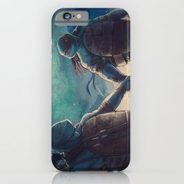 Leonardo and Raphael iPhone Case
