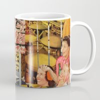meat Mugs featuring Meat Ladies by Katie Anderson Art
