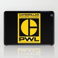 ripley iPad Cases featuring Weyland/Cat PowerLoader by IIIIHiveIIII