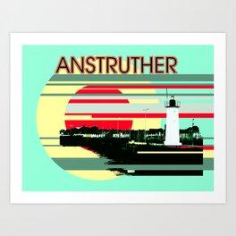 Anstruther Art Print