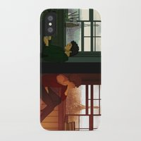 grantaire iPhone & iPod Cases featuring Enjolras & Grantaire by rdjpwns