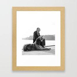 Nils & Dublin Framed Art Print