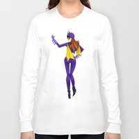 batgirl Long Sleeve T-shirts featuring Batgirl by genie espinosa