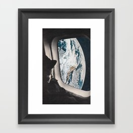Flight B Framed Art Print