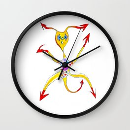 devilish Wall Clock