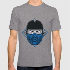 SubZero LARGE Tri-Grey Mens Fitted Tee