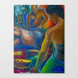 tatau session Canvas Print