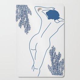Blue Bodied Cutting Board