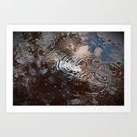 Tear Drops From Heaven Art Print