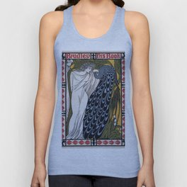 Vintage poster - Bradley - His Book Unisex Tank Top