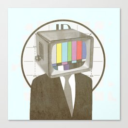 Please Stand By Canvas Print