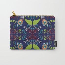 Peacock Nouveau Carry-All Pouch
