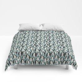 Penguin Colony Comforters