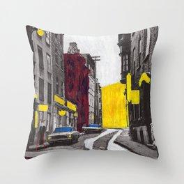 10th Street Throw Pillow