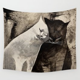 MORNING KISS by Raphaël Vavasseur Wall Tapestry