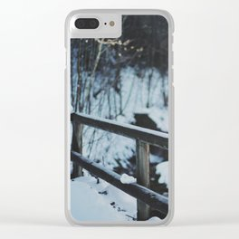 Attersee (1) Clear iPhone Case
