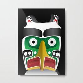 Thunderbird Head Metal Print