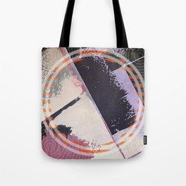 Twin - orange graphic Tote Bag