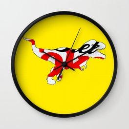Diet Coke T-Rex Wall Clock
