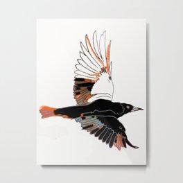 BlackbirdFlies - Ria Loader Metal Print