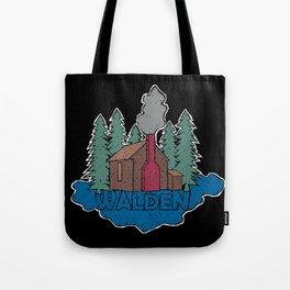 Walden - Henry David Thoreau (Coloured textured version) #society6 #decor #buyart Tote Bag