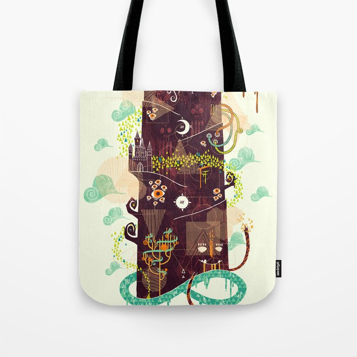 The Ominous and Ghastly Mont Noir Tote Bag