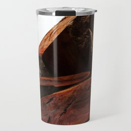 Stacked high against the sky... Travel Mug