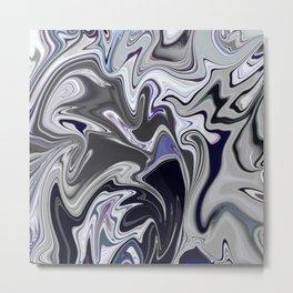 Mixed dark abstract Metal Print