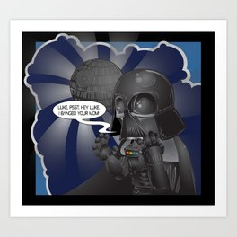 """Darth Banged"" Art Print"
