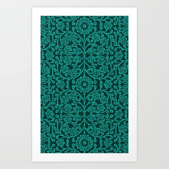 ANCIENT FLORA Art Print