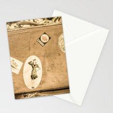 Retro Suitcase Stationery Cards
