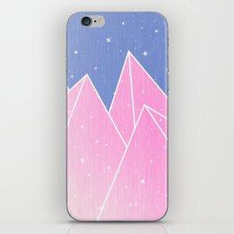 Sparkly Pink Crystals Design iPhone Skin